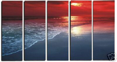 Dafen Oil Painting on canvas seascape painting -set241