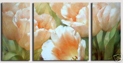 Dafen Oil Painting on canvas flower -set251