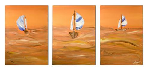 Dafen Oil Painting on canvas abstract -set264