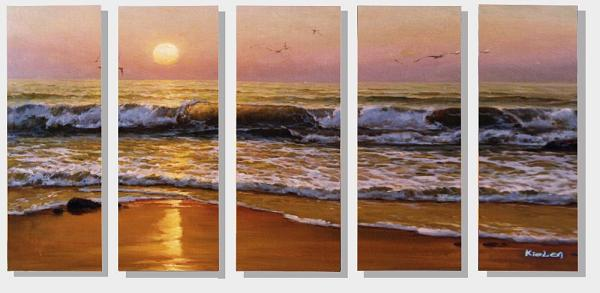 Dafen Oil Painting on canvas seascape painting -set289