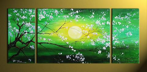 Dafen Oil Painting on canvas flower -set291