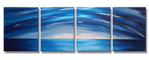 Dafen Oil Painting on canvas abstract -set294