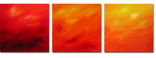 Dafen Oil Painting on canvas abstract -set307