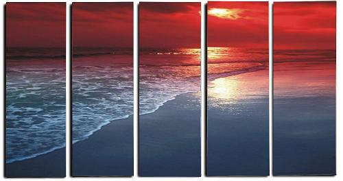 Dafen Oil Painting on canvas seascape painting -set315