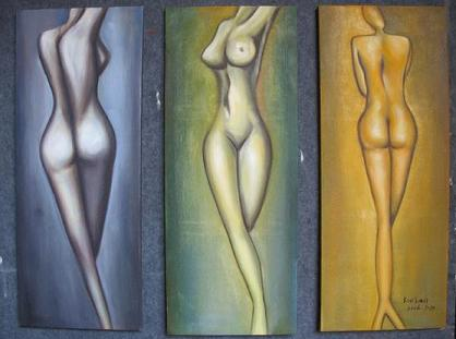 Dafen Oil Painting on canvas naked -set332