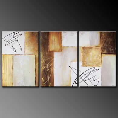 Dafen Oil Painting on canvas abstract -set344