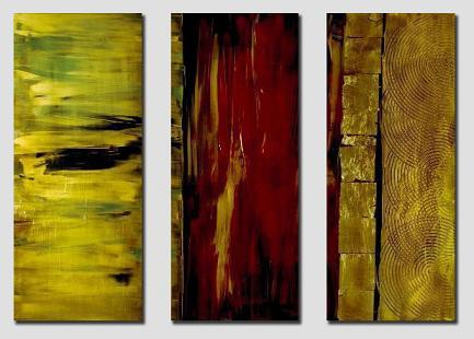 Dafen Oil Painting on canvas abstract -set345