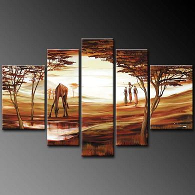 Dafen Oil Painting on canvas absrtact painting -set346