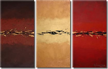 Dafen Oil Painting on canvas abstract -set348