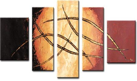 Dafen Oil Painting on canvas absrtact painting -set349