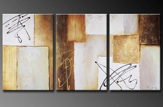 Dafen Oil Painting on canvas abstract -set351