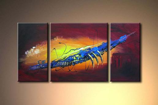 Dafen Oil Painting on canvas abstract -set356