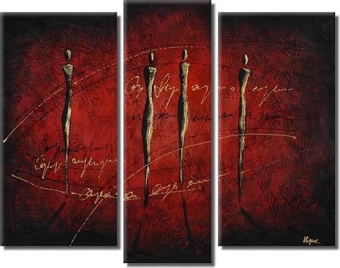 Dafen Oil Painting on canvas abstract -set370