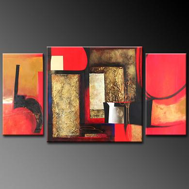 Dafen Oil Painting on canvas abstract -set373