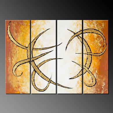 Dafen Oil Painting on canvas abstract -set380