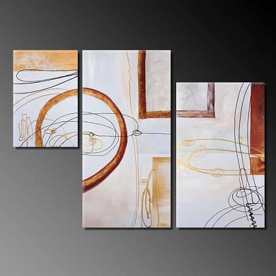 Dafen Oil Painting on canvas abstract -set381