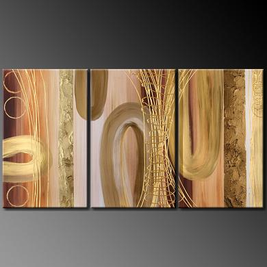 Dafen Oil Painting on canvas abstract -set388