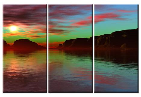 Dafen Oil Painting on canvas seascape -set391