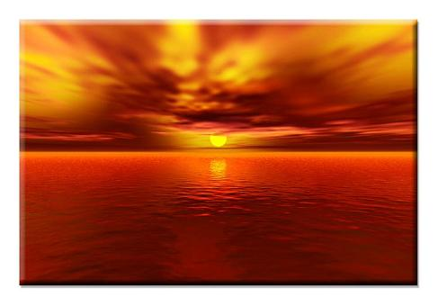 Dafen Oil Painting on canvas sunglow -set392