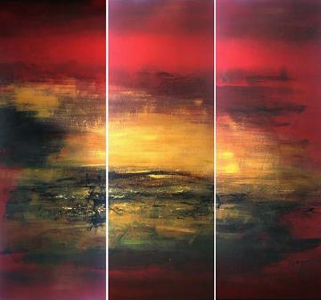 Dafen Oil Painting on canvas abstract -set401