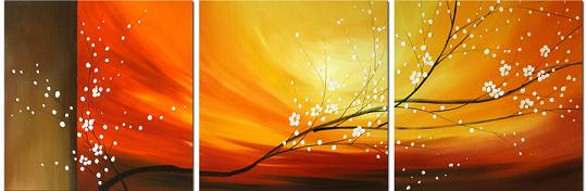 Dafen Oil Painting on canvas flower -set416
