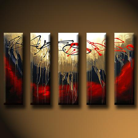 Dafen Oil Painting on canvas abstract painting -set427