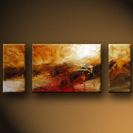 Dafen Oil Painting on canvas abstract -set429