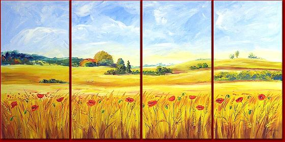 Dafen Oil Painting on canvas country -set433