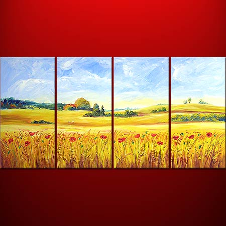 Dafen Oil Painting on canvas country -set434