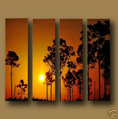 Dafen Oil Painting on canvas sunglow -set453