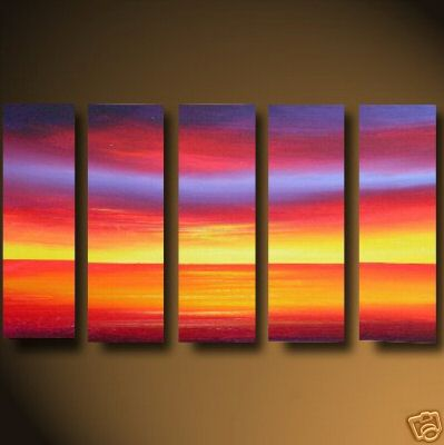 Dafen Oil Painting on canvas seascape painting -set462