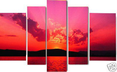 Dafen Oil Painting on canvas seascape painting -set467