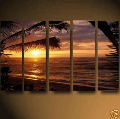 Dafen Oil Painting on canvas seascape painting -set480