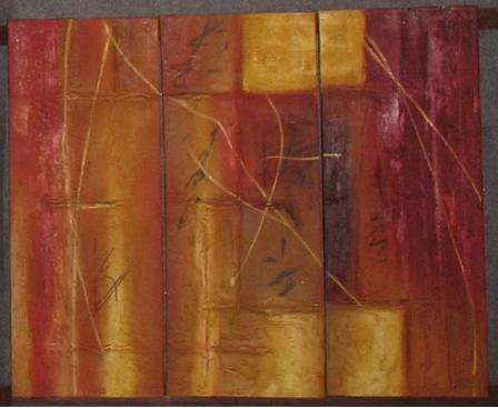Dafen Oil Painting on canvas absrtact -set505