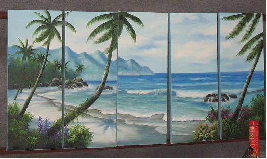 Dafen Oil Painting on canvas seascape painting -set506