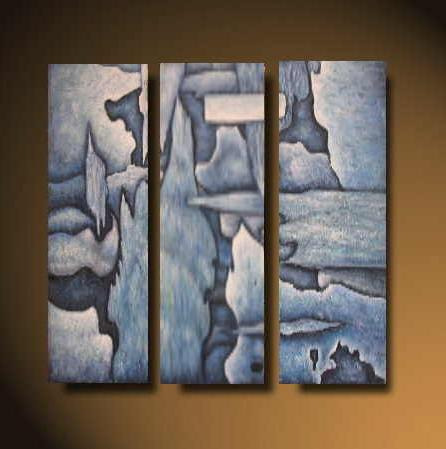 Dafen Oil Painting on canvas abstract -set512