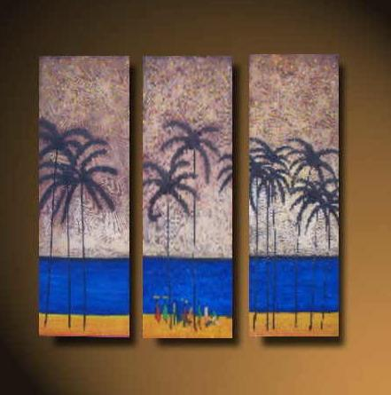 Dafen Oil Painting on canvas tress -set514