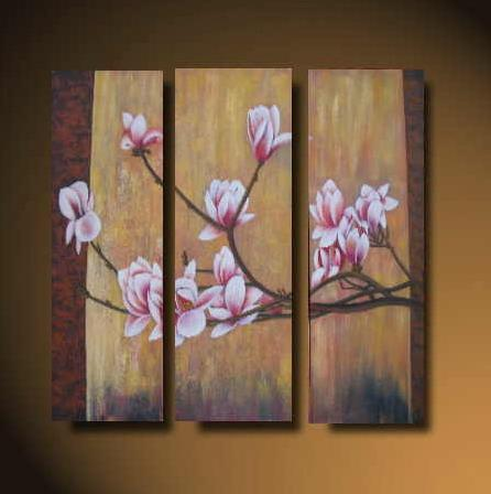 Dafen Oil Painting on canvas flower -set524