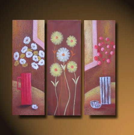 Dafen Oil Painting on canvas flower -set525