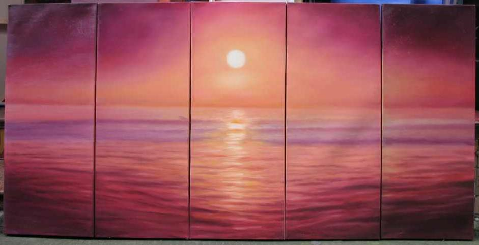 Dafen Oil Painting on canvas seascape painitng -set546