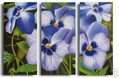 Dafen Oil Painting on canvas the flower painting -set556