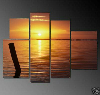 Dafen Oil Painting on canvas seascape painting -set603