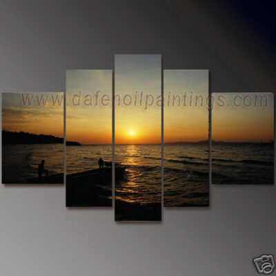 Dafen Oil Painting on canvas seascape painting -set607