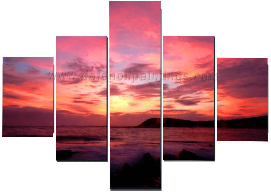 Dafen Oil Painting on canvas seascape painting -set611