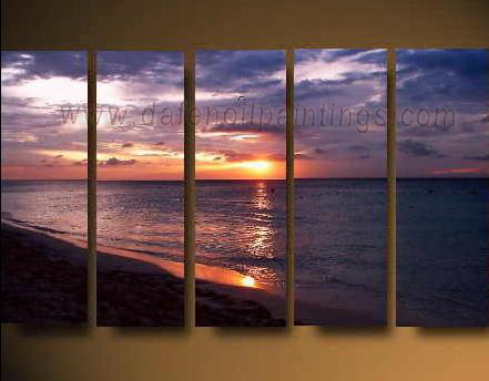 Dafen Oil Painting on canvas seascape painting -set612