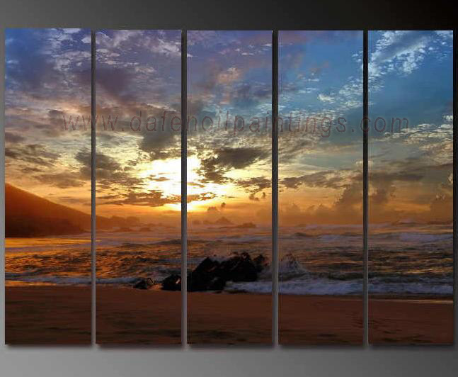 Dafen Oil Painting on canvas seascape painting -set616