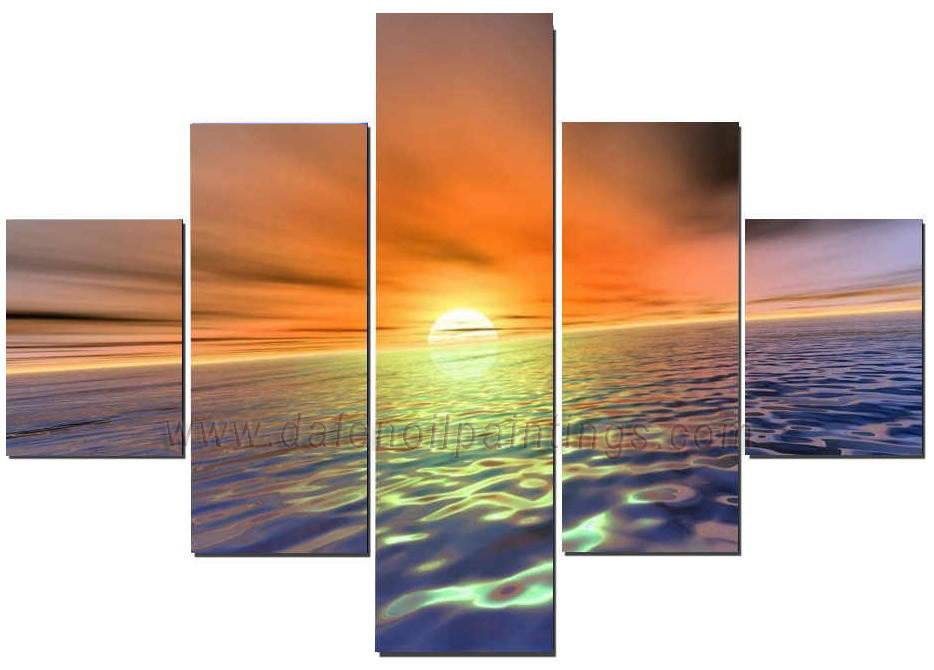 Dafen Oil Painting on canvas seascape painting -set618