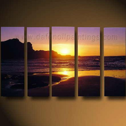 Dafen Oil Painting on canvas seascape painting -set619