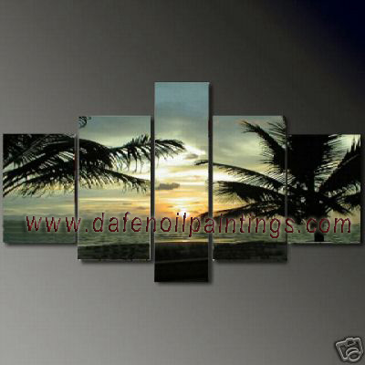 Dafen Oil Painting on canvas seascape painting -set621