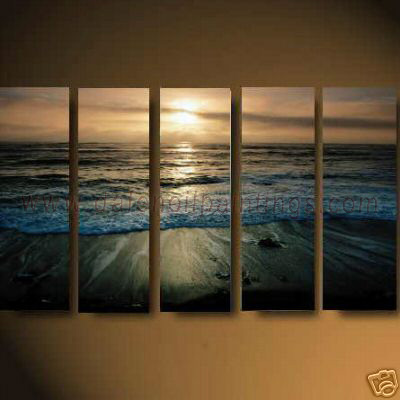 Dafen Oil Painting on canvas seascape painting -set622